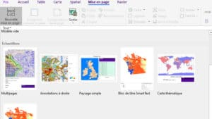 mapinfo Mise en page